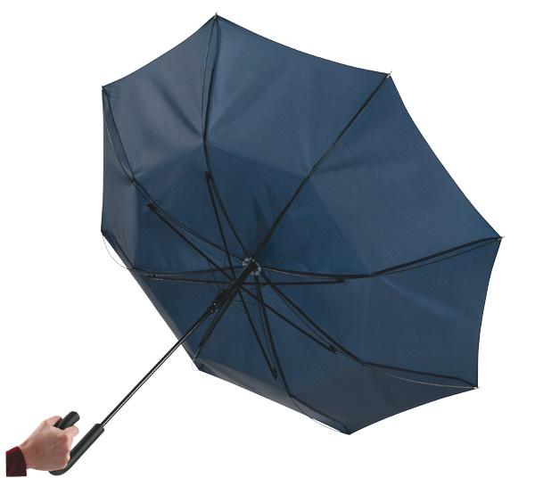 cba3cd603fa1 Automata szélálló esernyő, sötétkék