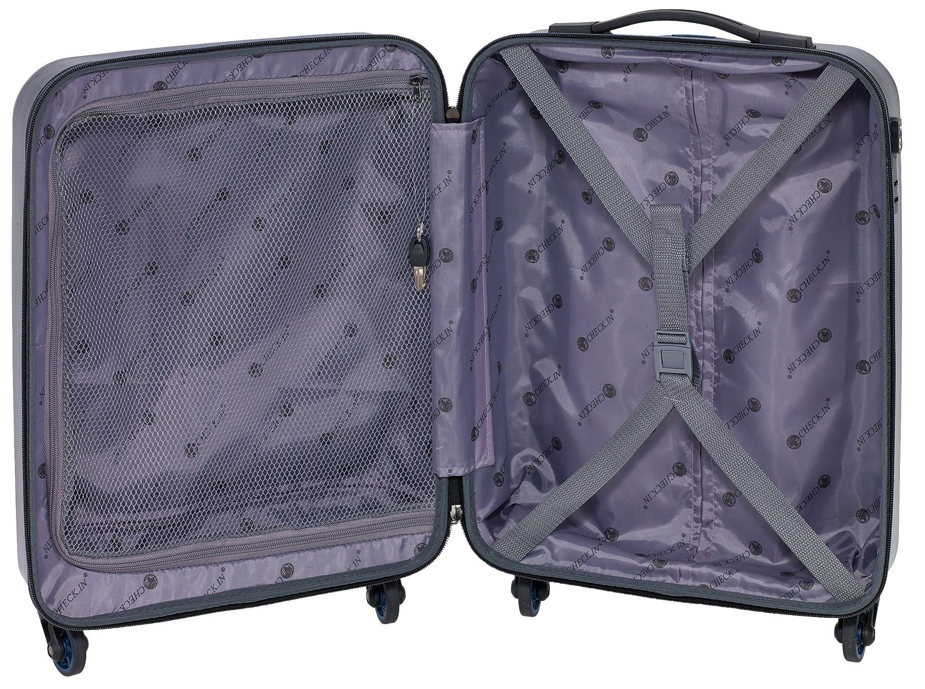 624279cb1d07 CORK gurulós bőrönd szett, kék ...